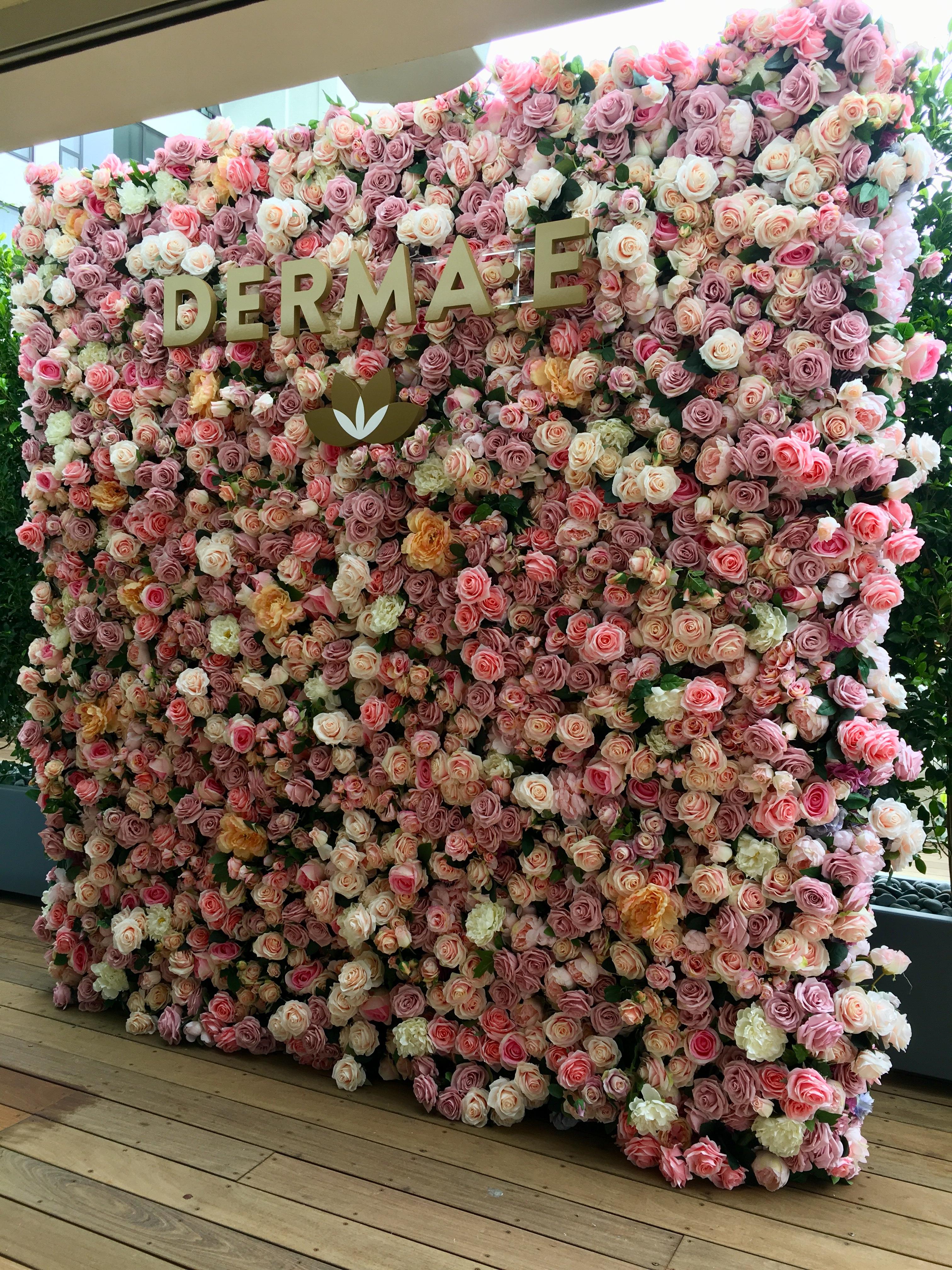 Silk Flower Wall Rentals Flower Gypsies
